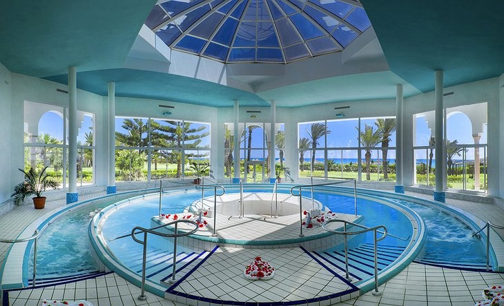 Hasdrubal Thalassa spa indoor pools