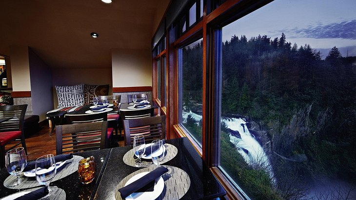 Salish Lodge Restaurant View