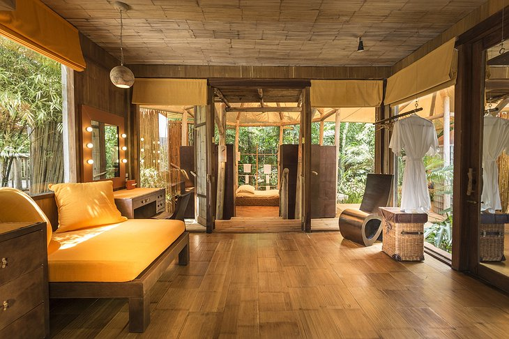 Soneva Kiri Private Beach Pool Reserve Master changing room