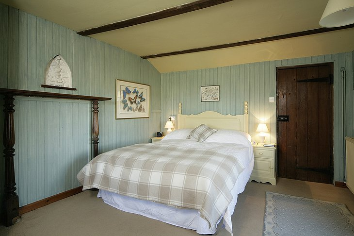 Cley Windmill bedroom