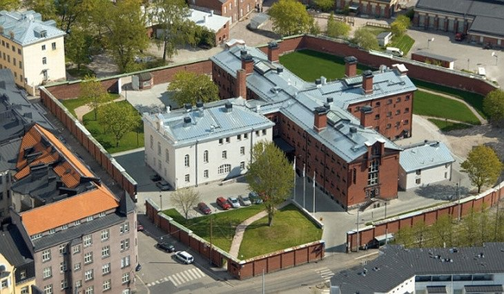 Hotel Katajanokka from the air