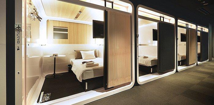Elegant First Cabin Tsukiji   Japanese Style Pod Hotel