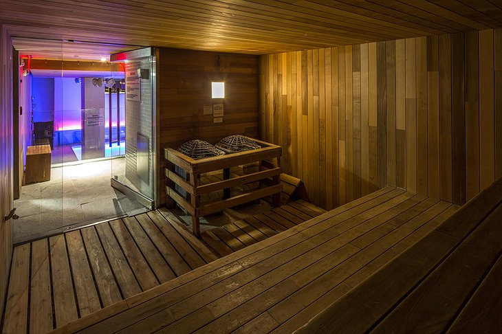 Room Mate Grace hotel sauna