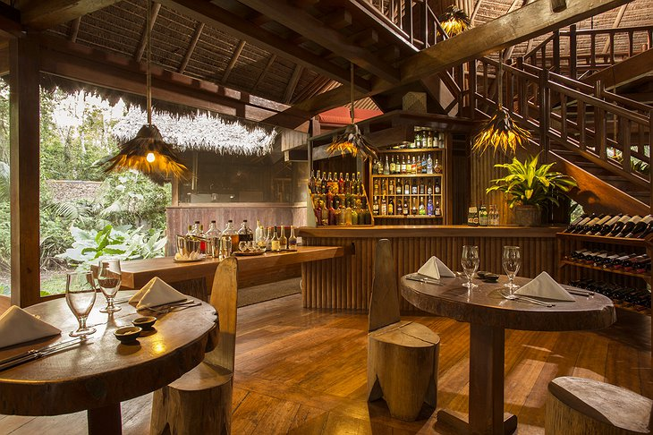 Inkaterra Reserva Amazonica Lodge Bar