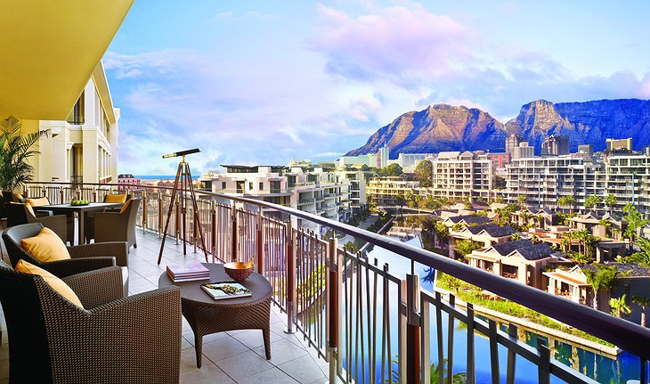 One&Only Cape Town terrace