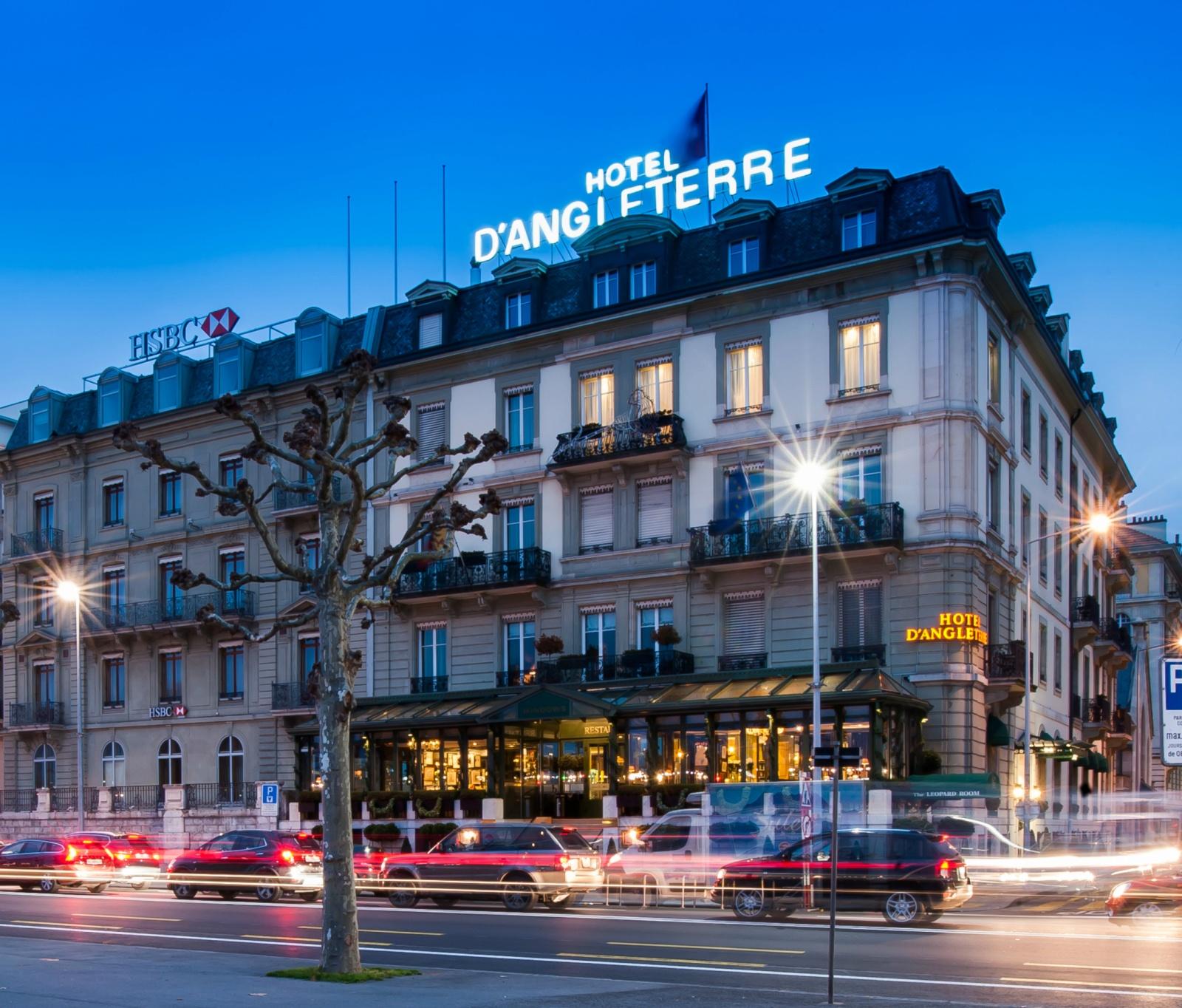 Hotel d angleterre geneva for Design hotel geneva