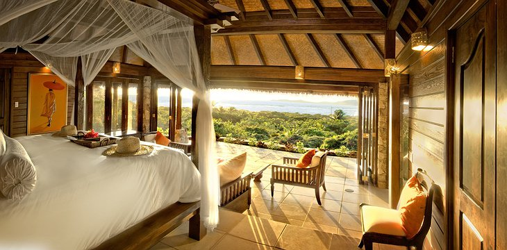 Necker Island room with view on the sea