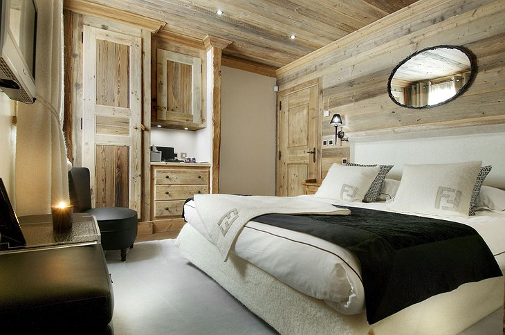 Grande Roche Chalet bedroom