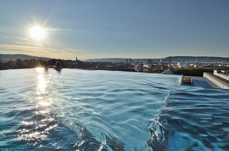 B2 Boutique Hotel rooftop pool