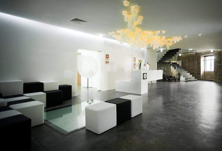 Design & Wine Hotel reception