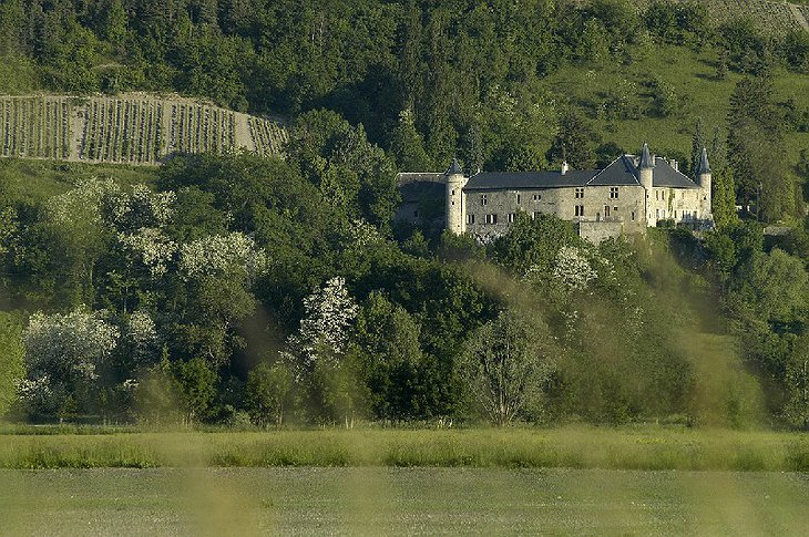 Chateau St Philippe in rural France
