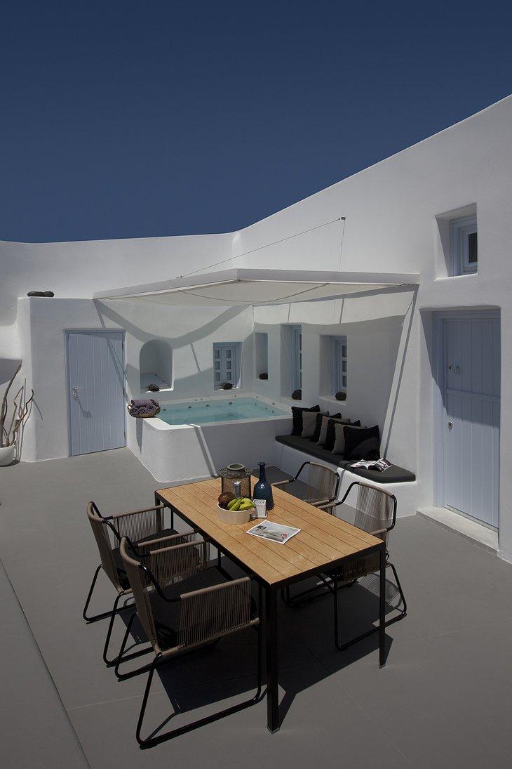 Anemolia Villa terrace