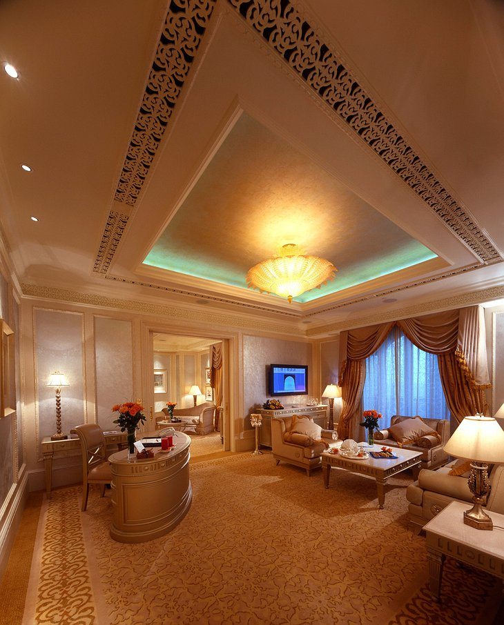 Emirates Palace luxury suite