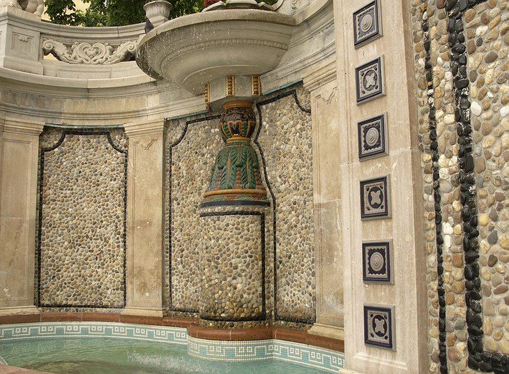 Gellert Spa tiles and mosaics