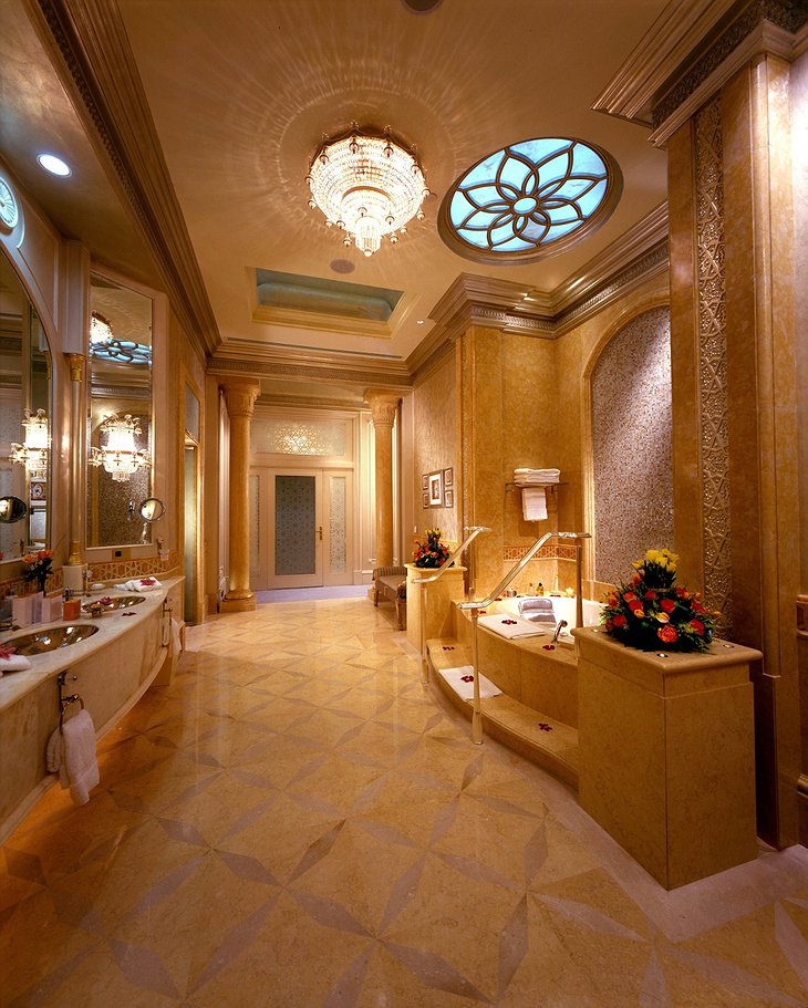 Emirates Palace bathroom