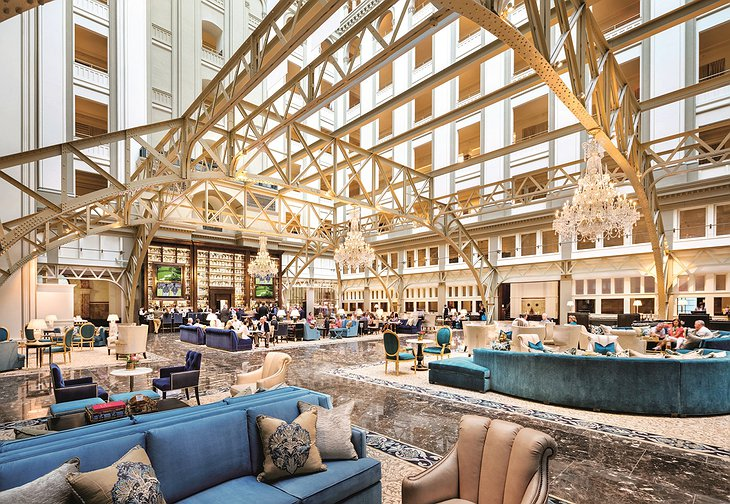 Trump International Hotel Washington Grand Lobby
