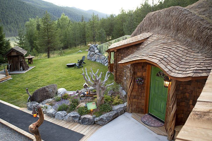 Hobbit House from the top