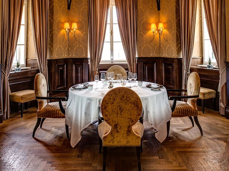 Falkensteiner Schlosshotel Velden luxury dining