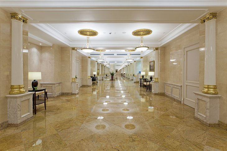 Radisson Royal Moscow lobby floor