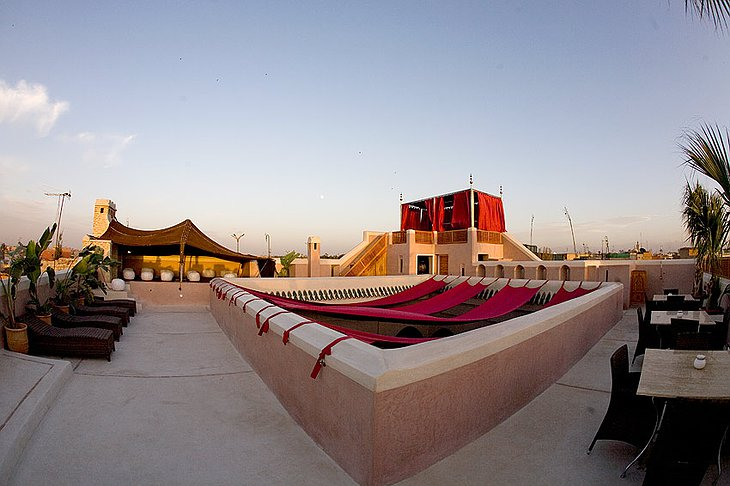 Riad AnaYela rooftop terrace