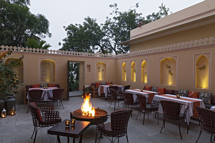 Samode Haveli terrace