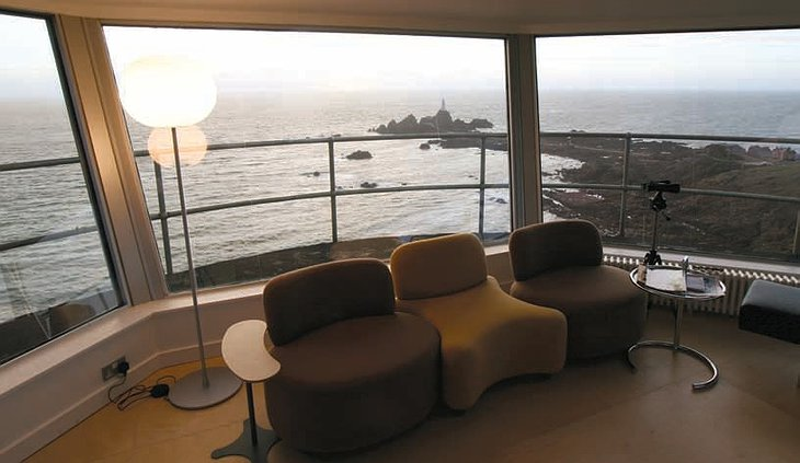 Sunset at the La Corbiere Radio Tower hotel