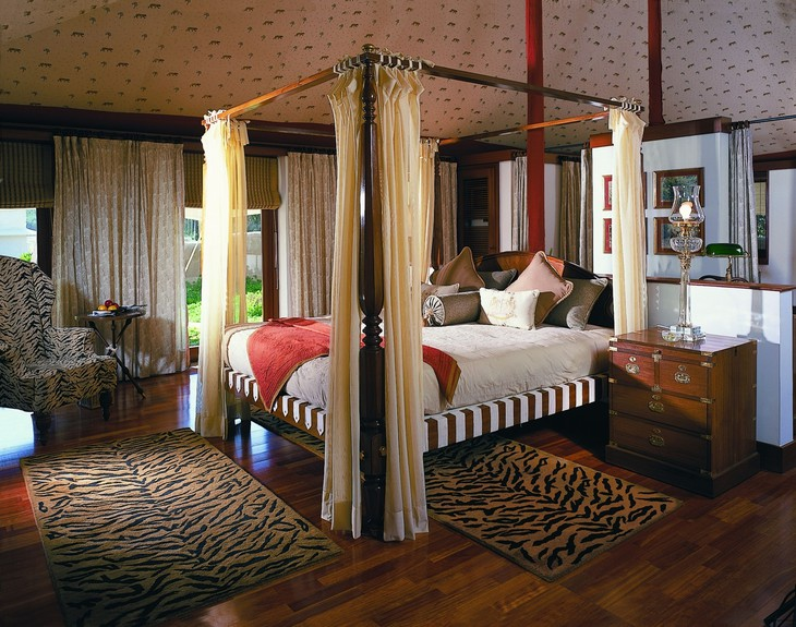 The Oberoi Vanyavilas bedroom