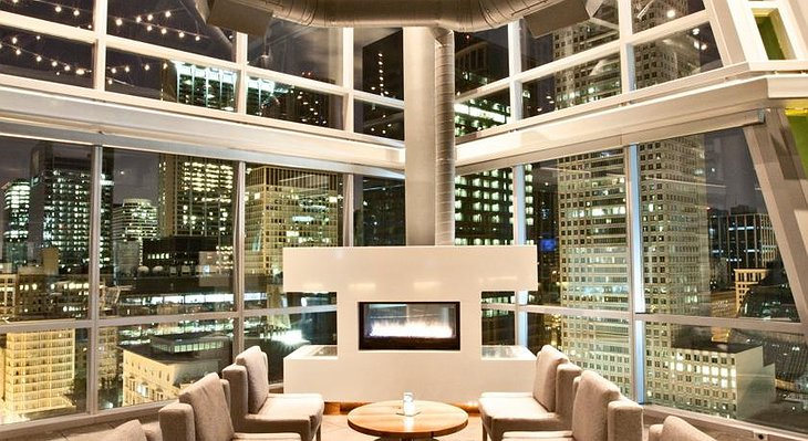 theWit fireplace
