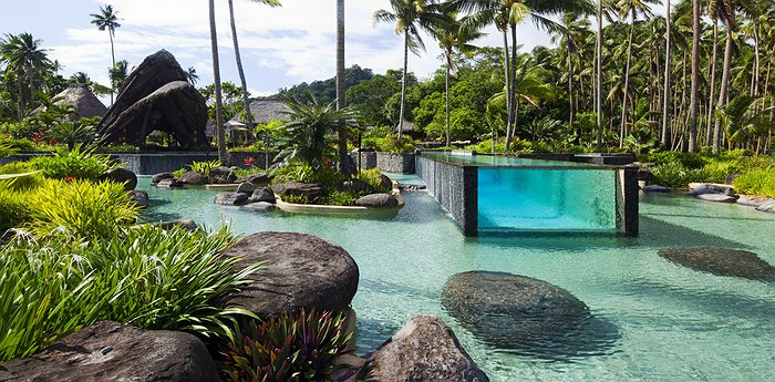 Laucala Island Resort - Luxurious Private Fijian Styled Villas