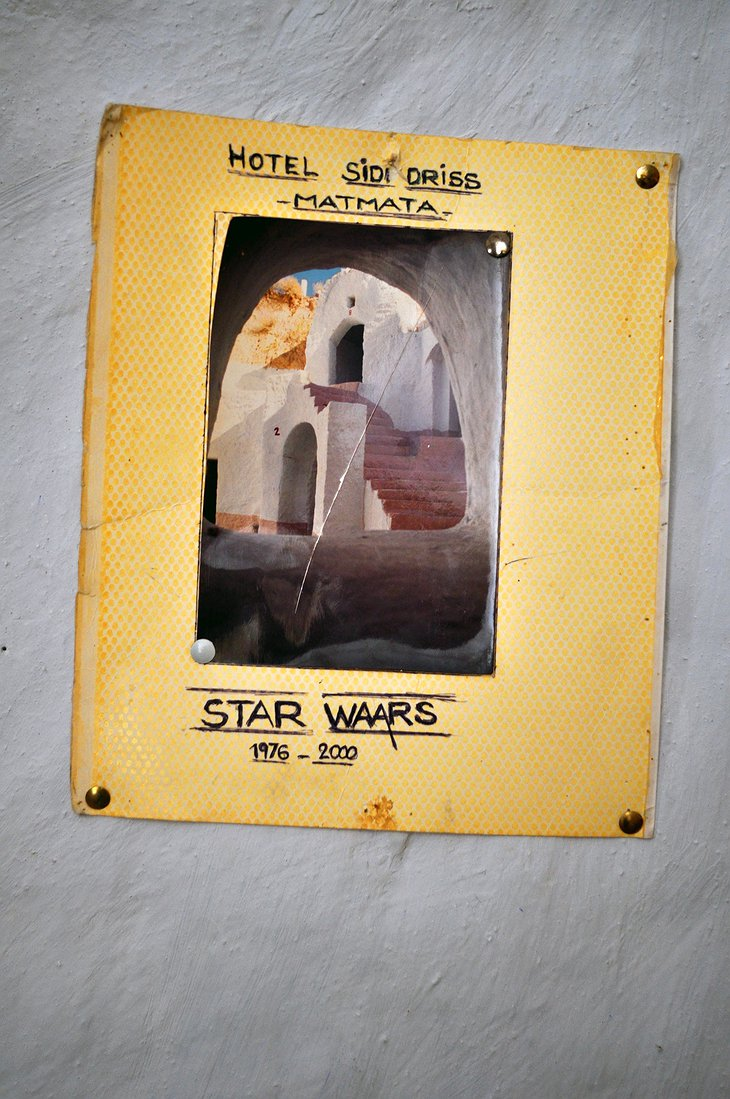 Hotel Sidi Driss Star Wars poster