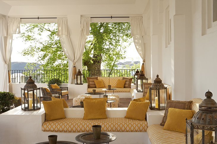 Finca Cortesin Hotel relaxation room