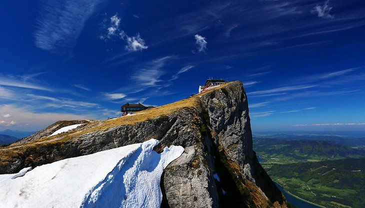 Schafberg cliff peak