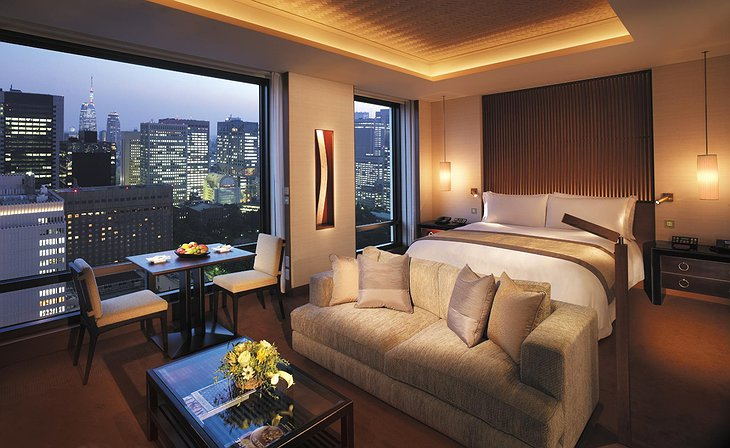 Peninsula Hotel Tokyo room with city view