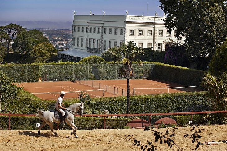 Horse riding at Sintra Castle Hotel