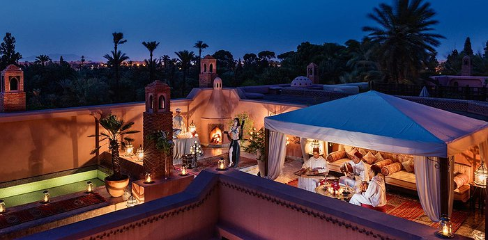 Royal Mansour Marrakech - Underground tunnels to your room