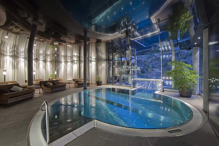 Hotel Matterhorn Focus indoor pool