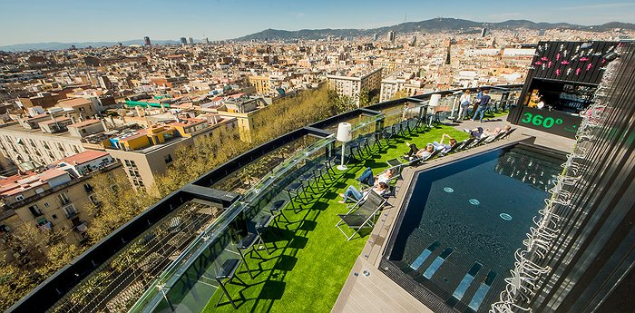 Barcelo Raval Barcelona - Avant-Garde Hotel With Panoramic Rooftop In Central Barcelona