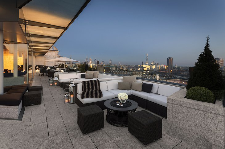 London ME Radio Rooftop terrace