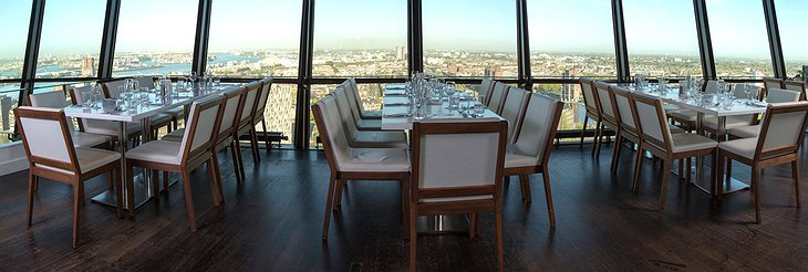 Euromast observation tower restaurant panorama