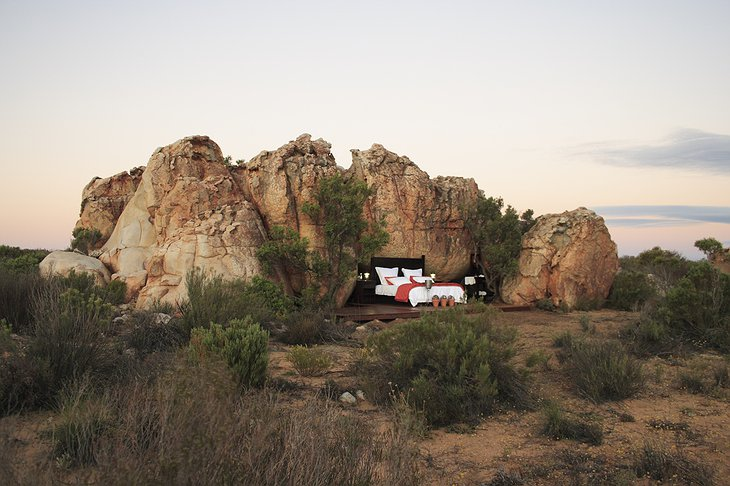 Kagga Kamma Nature Reserve Open air room