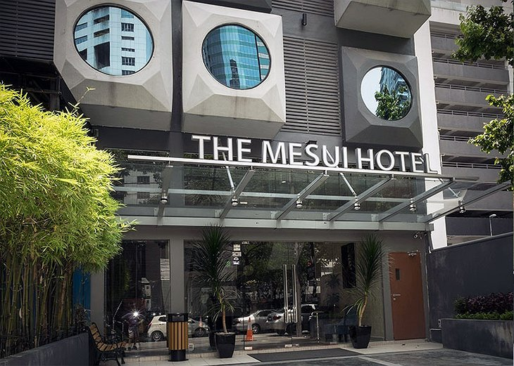 The Mesui Hotel Entrance