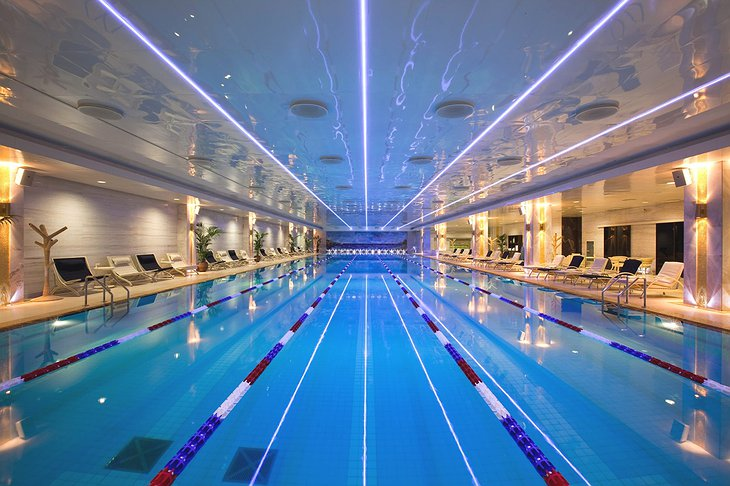 Radisson Royal Moscow swimming pool