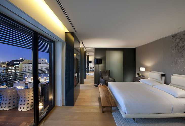 Mandarin Hotel Barcelona room with view on Barcelona