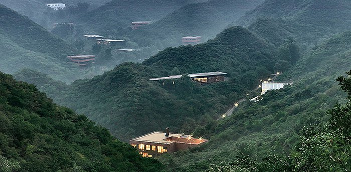 Commune by the Great Wall - Contemporary architecture at the Great Wall of China
