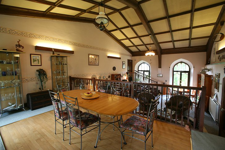 The Old Church of Urquhart dining room