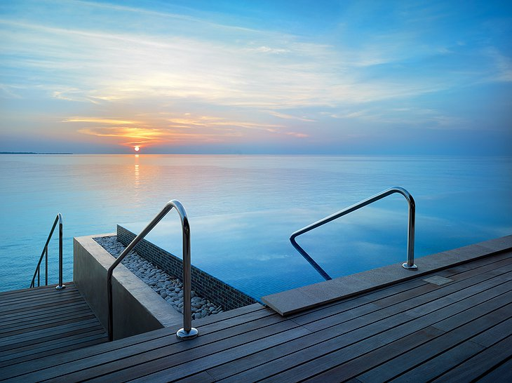 Sunset Deluxe Water Pool Villa - View from Terrace
