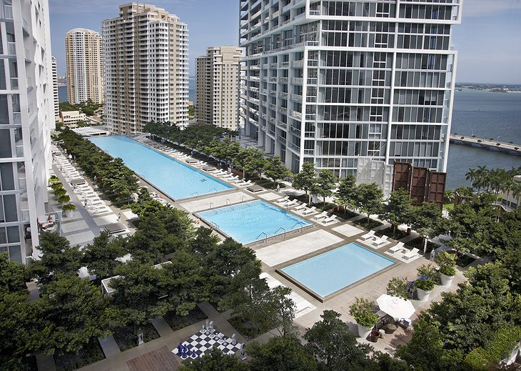 Viceroy Miami swimming pools