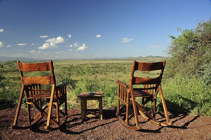 Shu'mata Camp chairs in the open nature