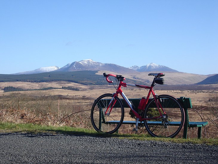 Isle of Arran biking