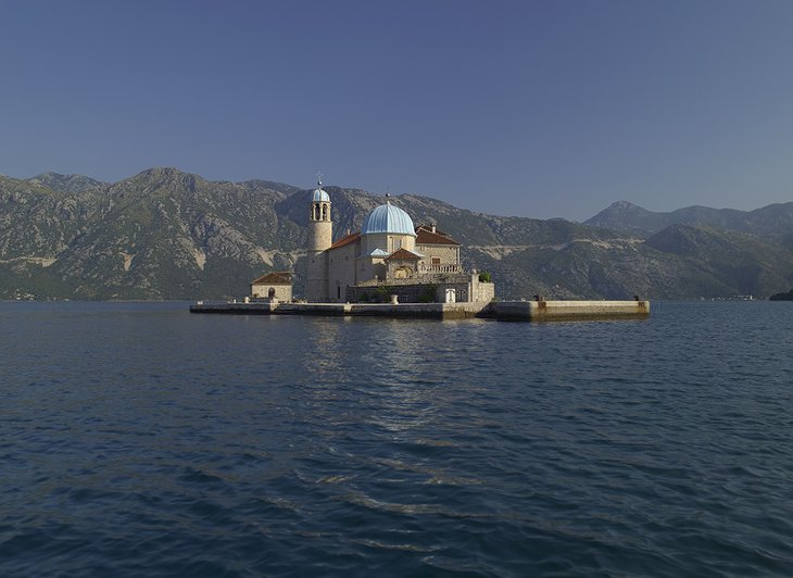 Our Lady of the Rocks Church in Perast